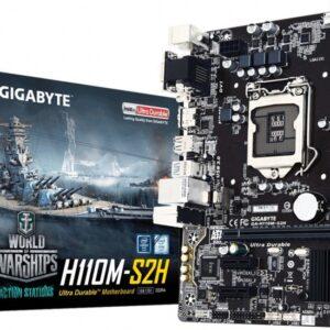 Gigabyte GA-H110M-S2H moederbord socket 1151
