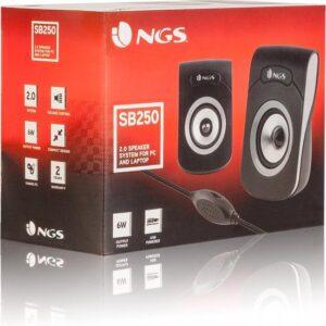 NGS – MULTIMEDIA 2.0 SPEAKER SB250 – pc speaker – geluidsboxjes
