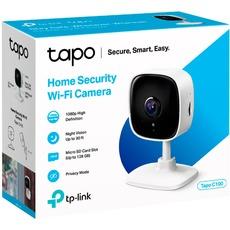 TP-Link Tapo C100 netwerk camera (Wit, 1080p, WLAN)
