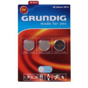 Grundig CR lithium 2016