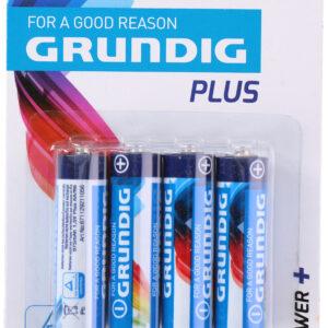 batterij AA/R6 1.5v 4 stuks Grundig
