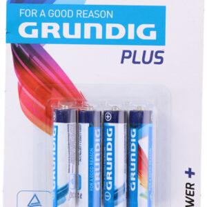 Grundig Batterijen Alkaline R3 Aaa Zn 325 Mah 4 Stuks 8711252525600