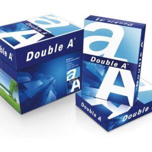 Doos print papier Double A Paper A4 Printpapier 80 Gram Wit 5 pakken